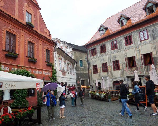 Square in Cesky Krumlov