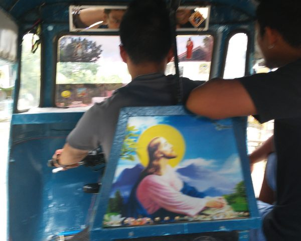 A tricycle in Anda