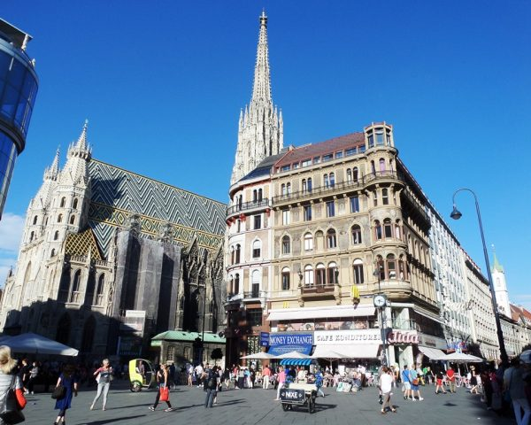 View of St. Stephen's Cathedral Vienna