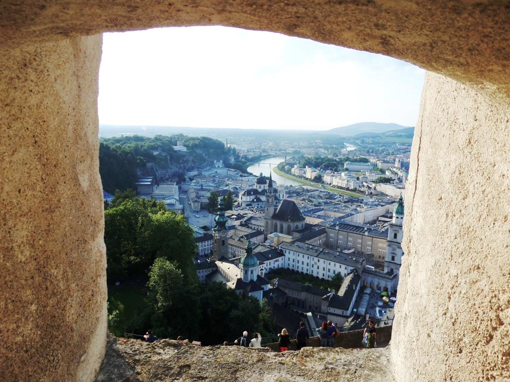 A window on Salzburg