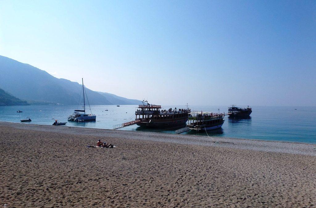 Blue lagoon Oludeniz beach