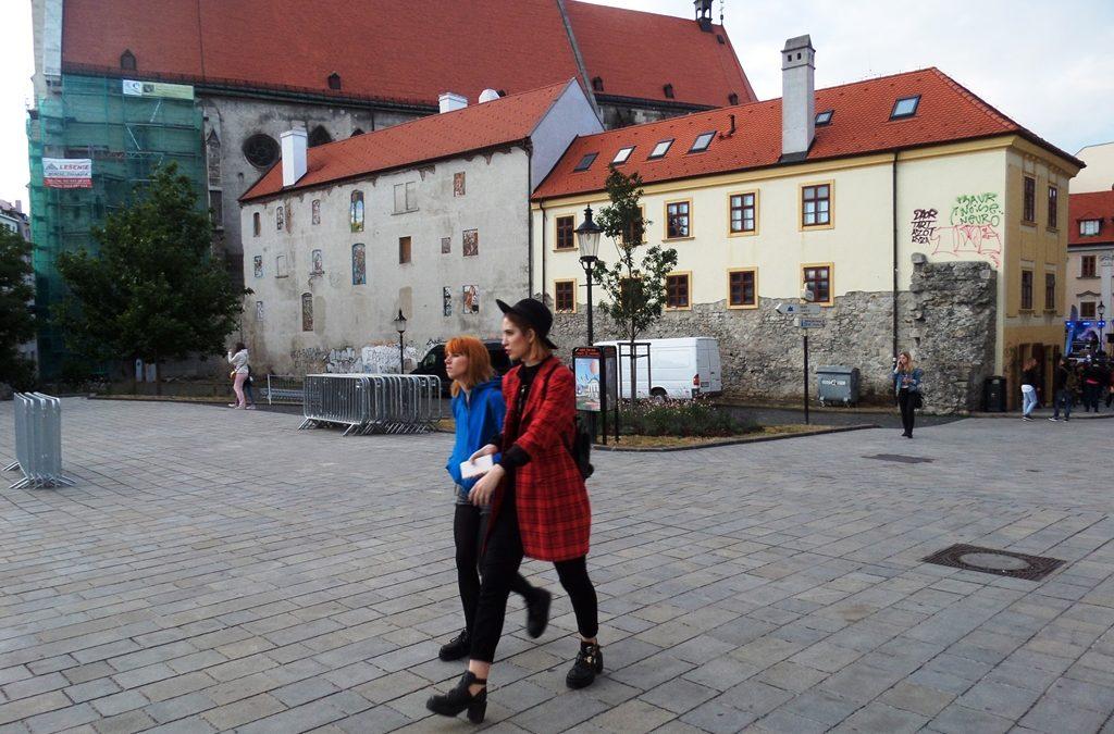 Bratislava old town center