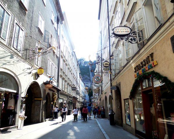 Center of Salzburg