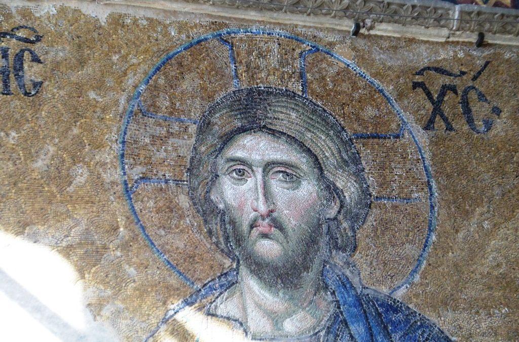 Christ Mosaic Istanbul