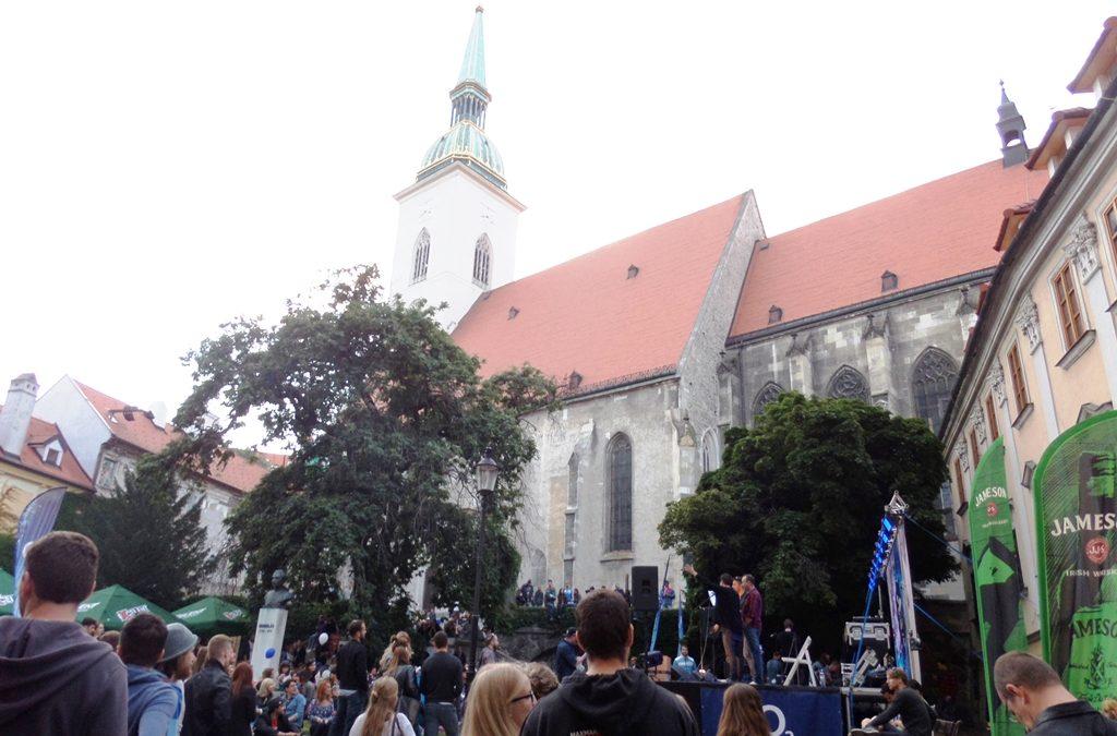 City life in Bratislava