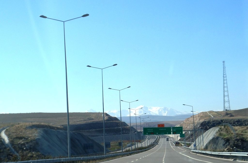 Freeway in Turkey