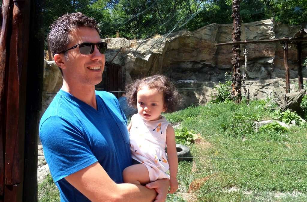 Inside the Bratislava zoo