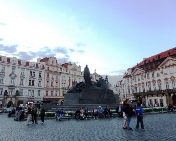 JanHus Memorial Statue