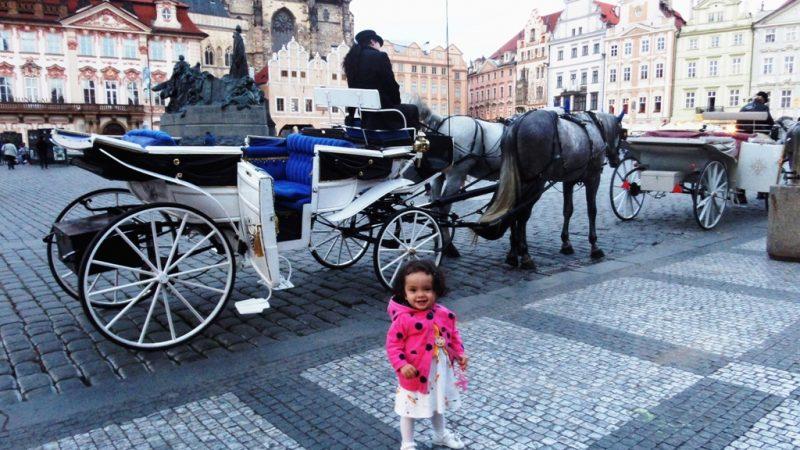 Just arrived in Prague