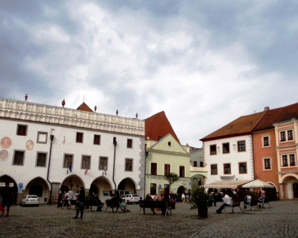 Main Square of Cesky Krumlov