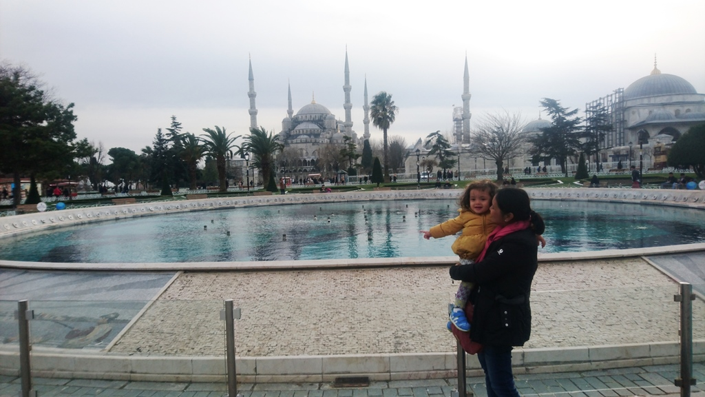 Mom and Lara once again in IstanbulMom and Lara once again in Istanbul