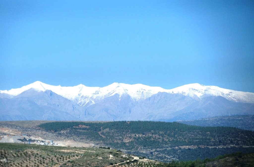 Mountains near Adana