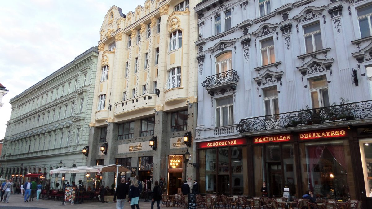 Old town of Bratislava