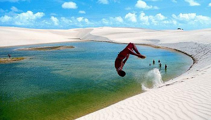 Parque Nacional dos Lençóis Maranhenses, Brazil