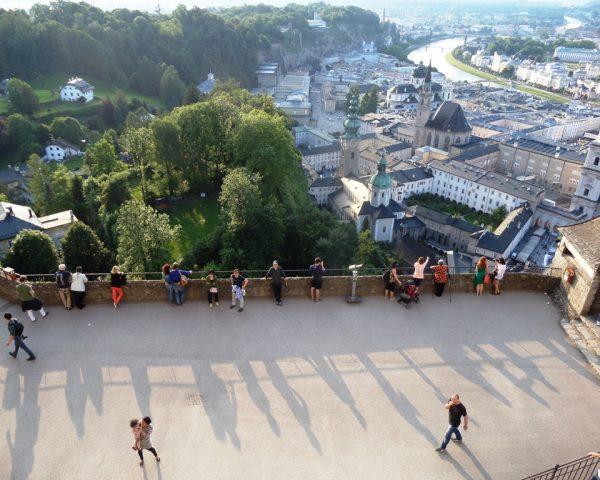 Skyview of Salzburg