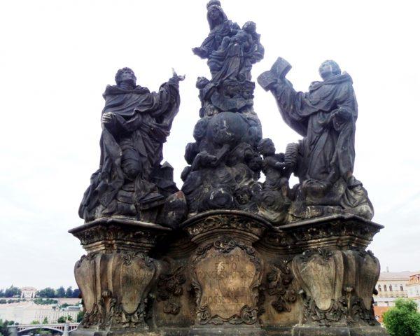 Statues on Charles Bridge