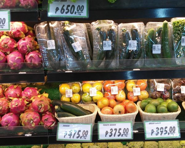 Super expensive prices at a supermarket in Dumaguete City
