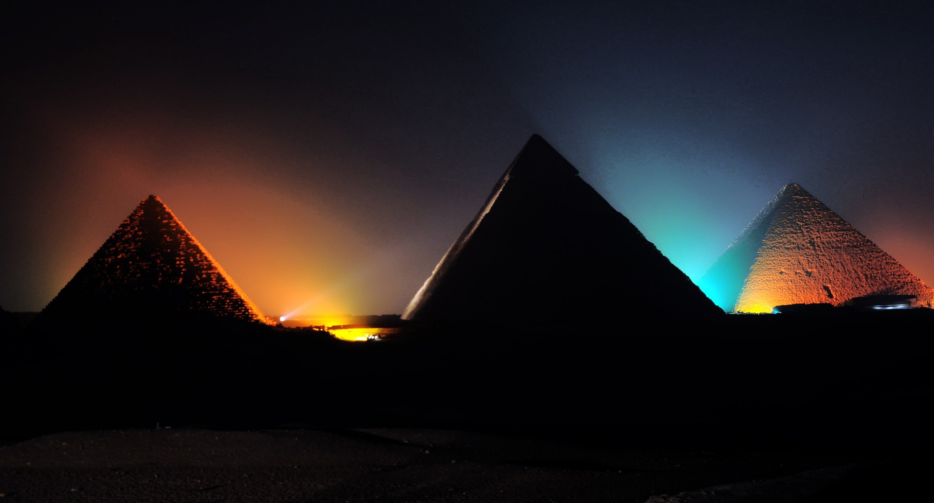 The Great Pyramid of Giza, Light Show