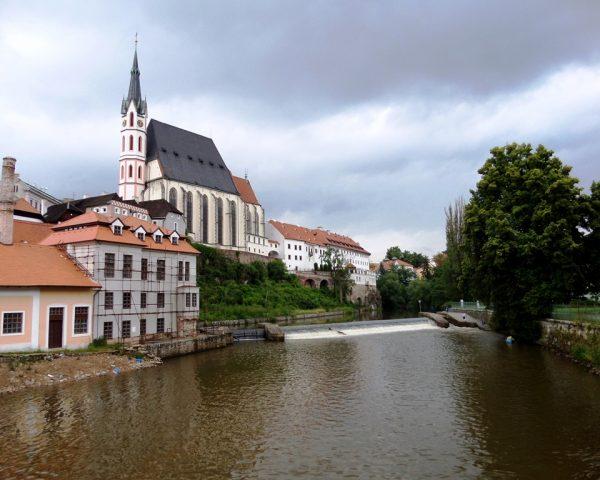The River of Cesky Krumlov