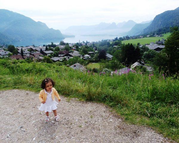 Lara in St. Gilgen, Austria