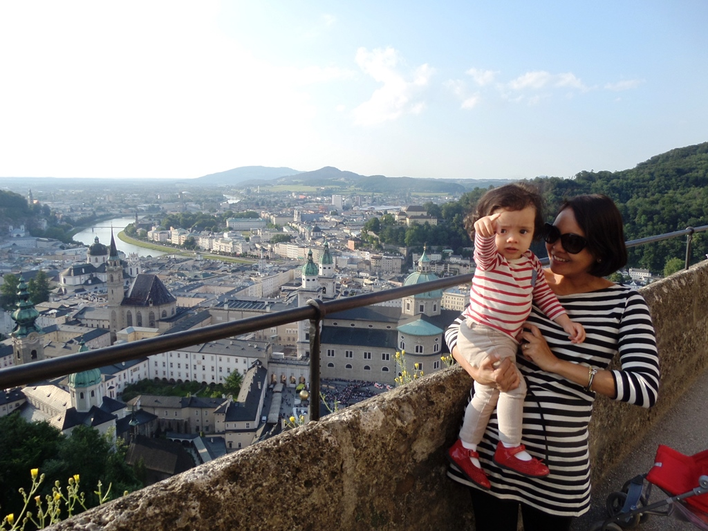 Up in the Castle of Salzburg