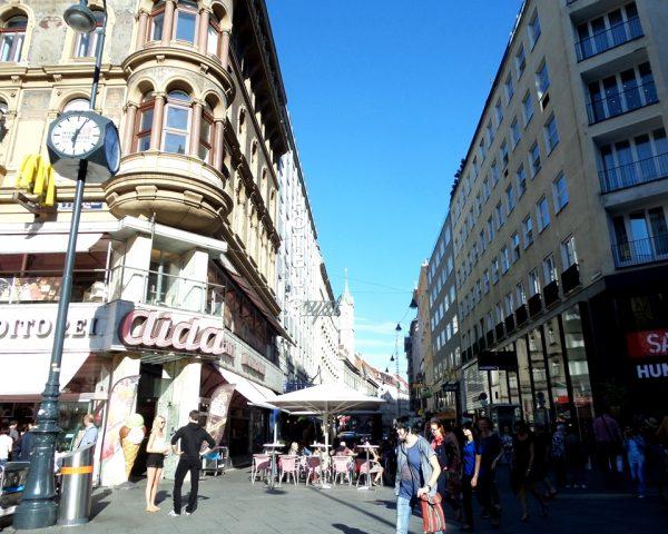 Vienna city life