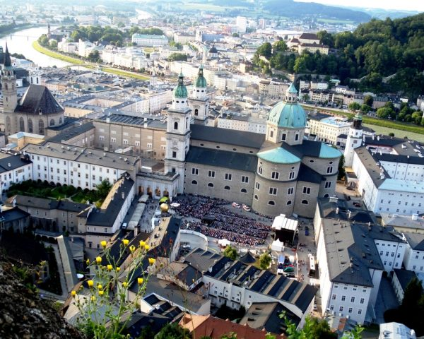 View from the Castle of Salzburg