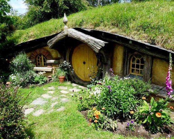 Around the Hobbiton Movie Set