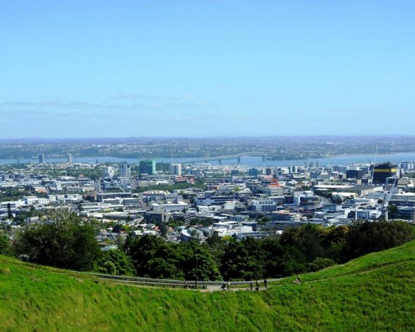 Auckland seen from Mt. Eden
