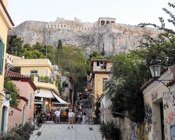 Below the Acropolis, Athens