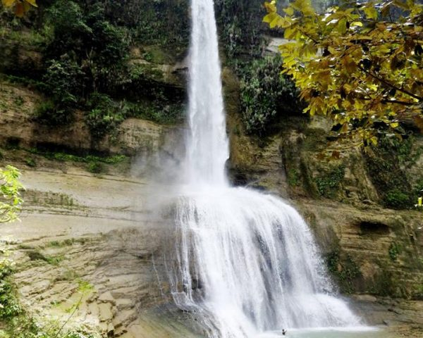 Can-Umantad Falls in Candijay