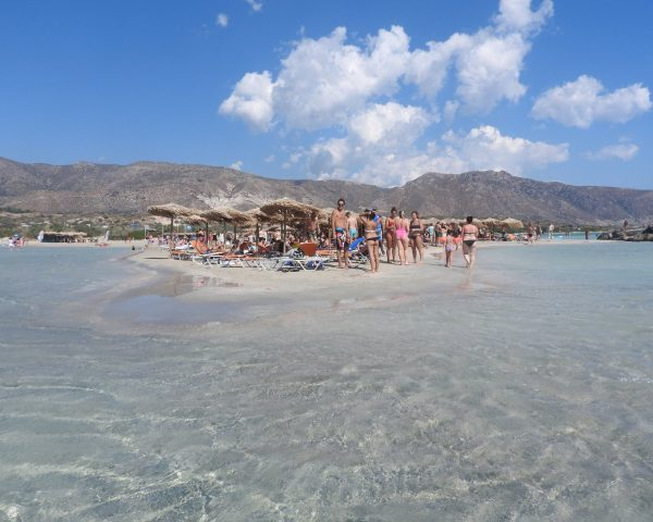 Elafonissi Beach in Crete