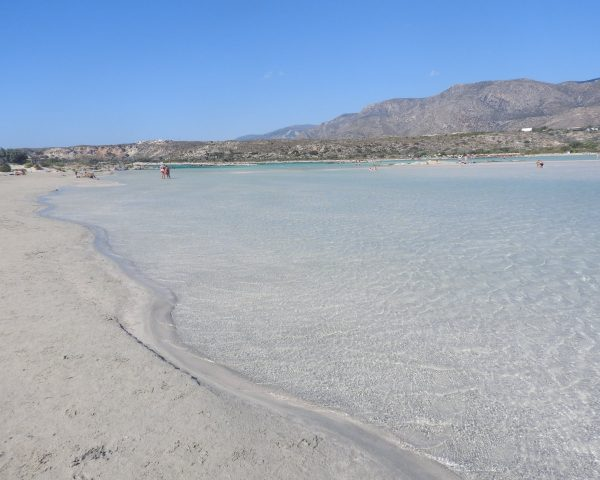 Elafonissi beach is the best in Crete