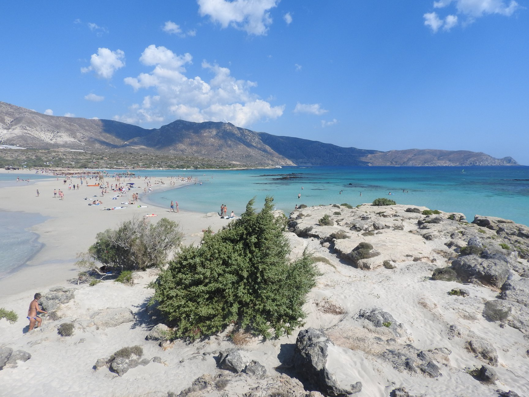Elafonissi is the most beautiful beach in Crete