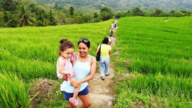 Going to Can-Umantad. Lara is the youngest travel blogger in the wotld.