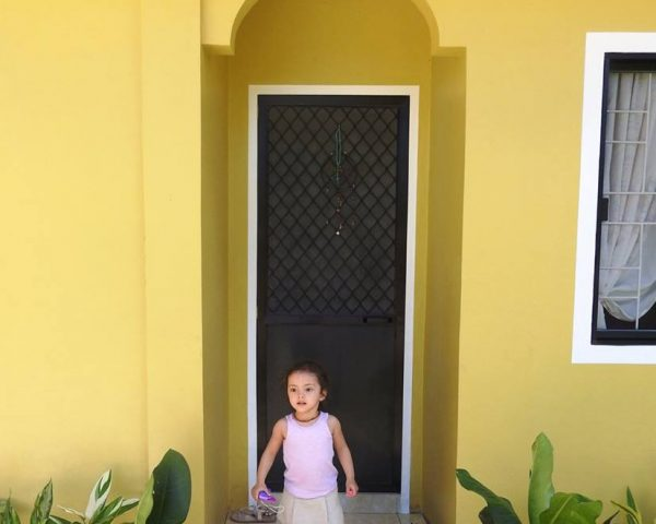Lara at her home in Candijay