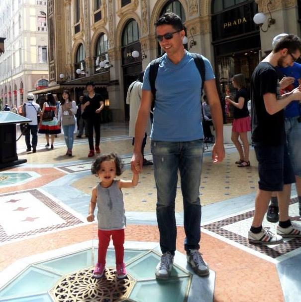 Lara in Milan