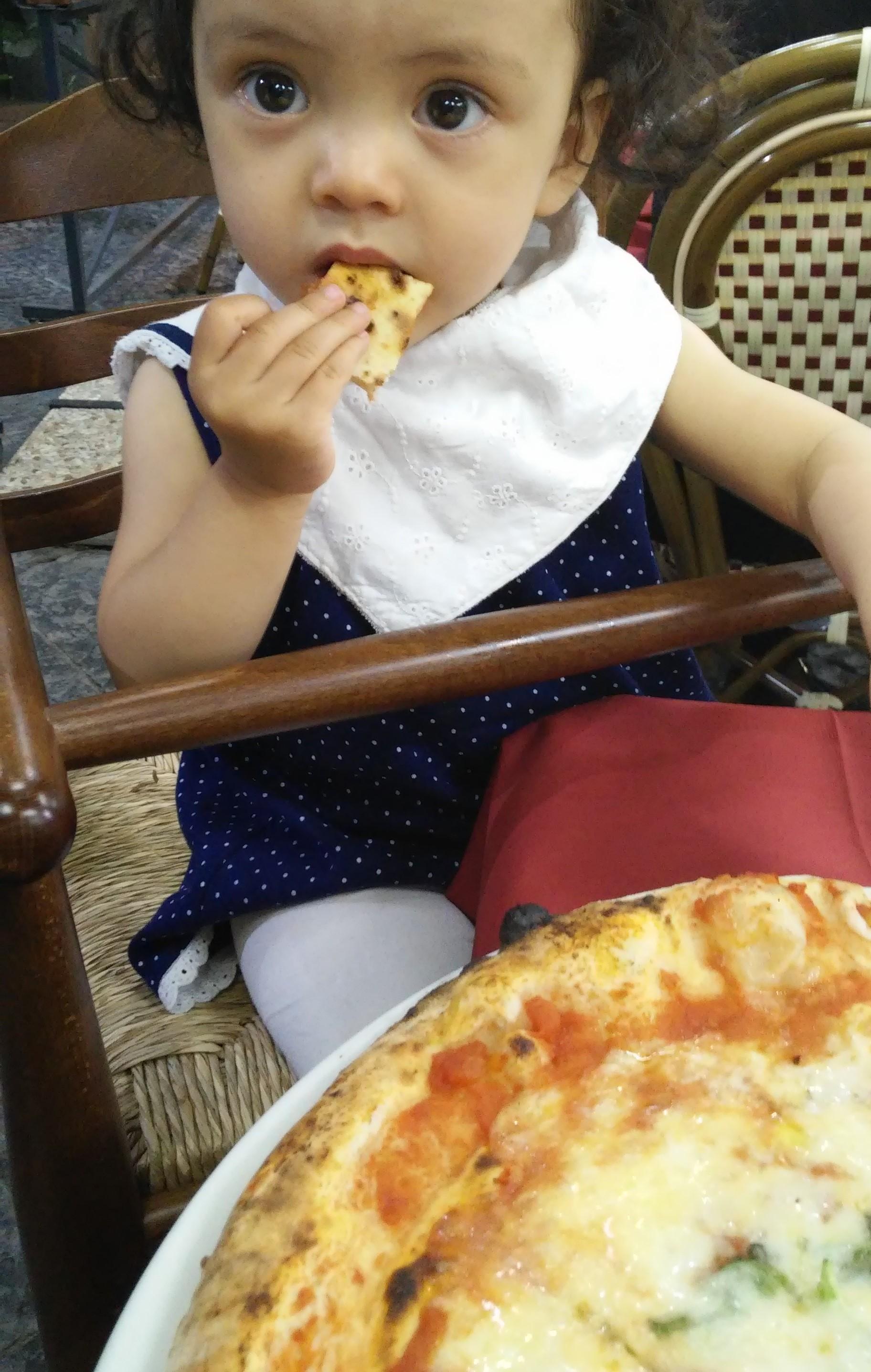 Lara in Naples