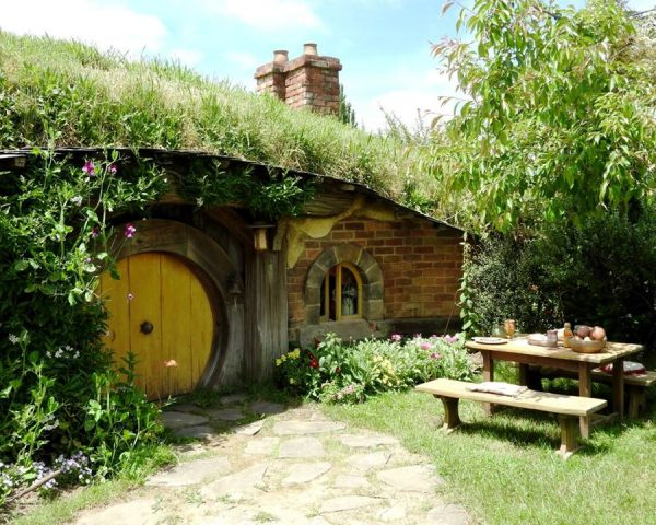 Little house at Hobbiton Movie Set