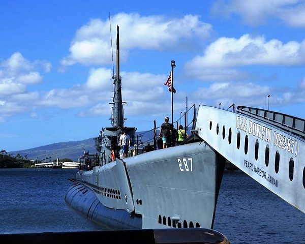 Submarine at Pearl Harbor