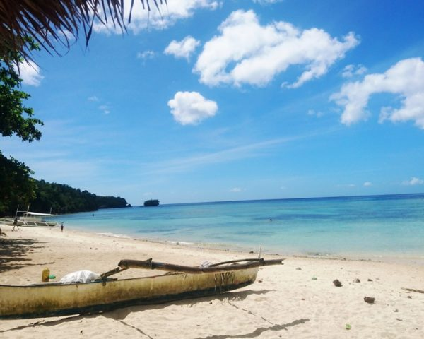 The beautiful Lara Beach Bohol