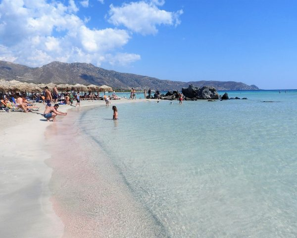 The perfect beach at Elafonissi Beach, Crete