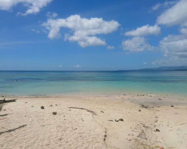 The secret beach of Lara Beach Bohol