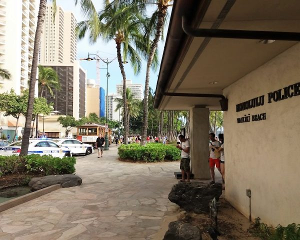 Waikiki Beach, Honolulu Police
