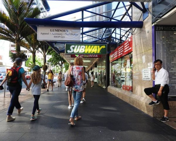 Walking the streets of Auckland