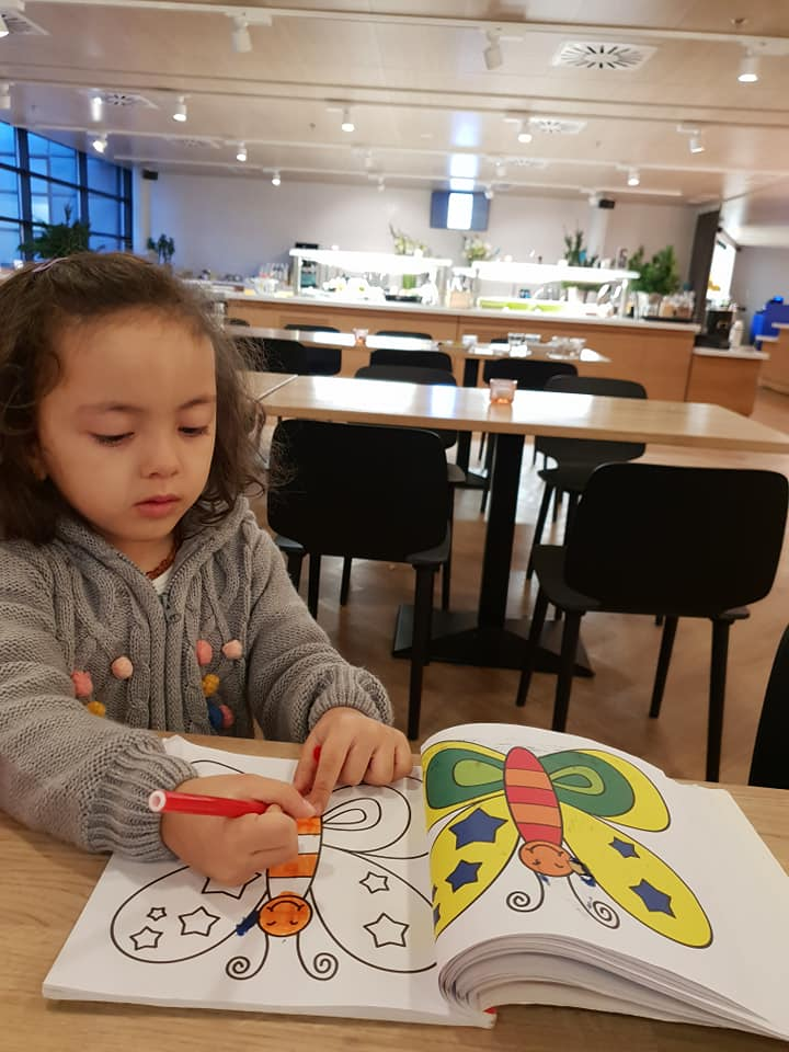 Lara at the Scandic Helsinki Aviacongress