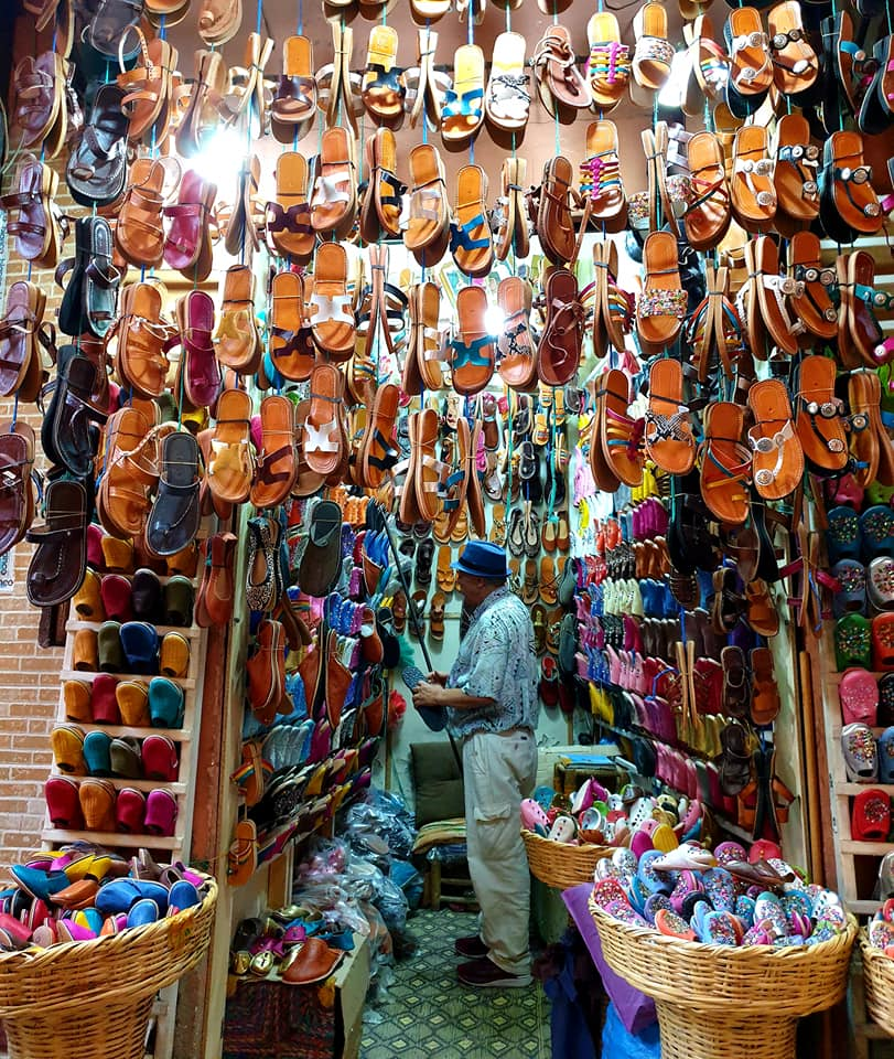 Shops in Marrakech