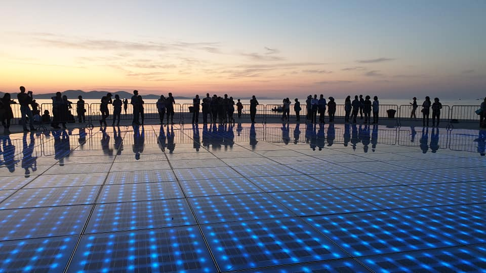 Monument to the Sun of Zadar