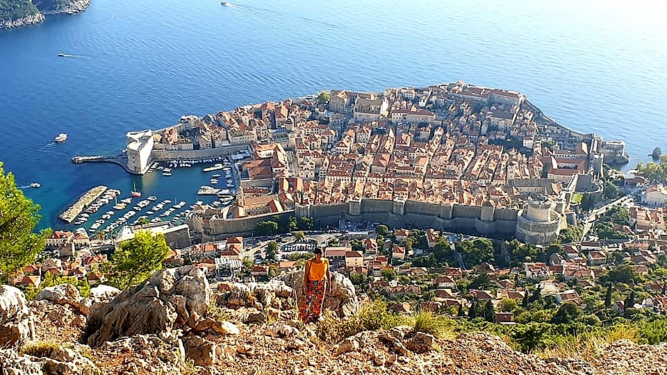 The Best View of Dubrovnik from Mount Srđ
