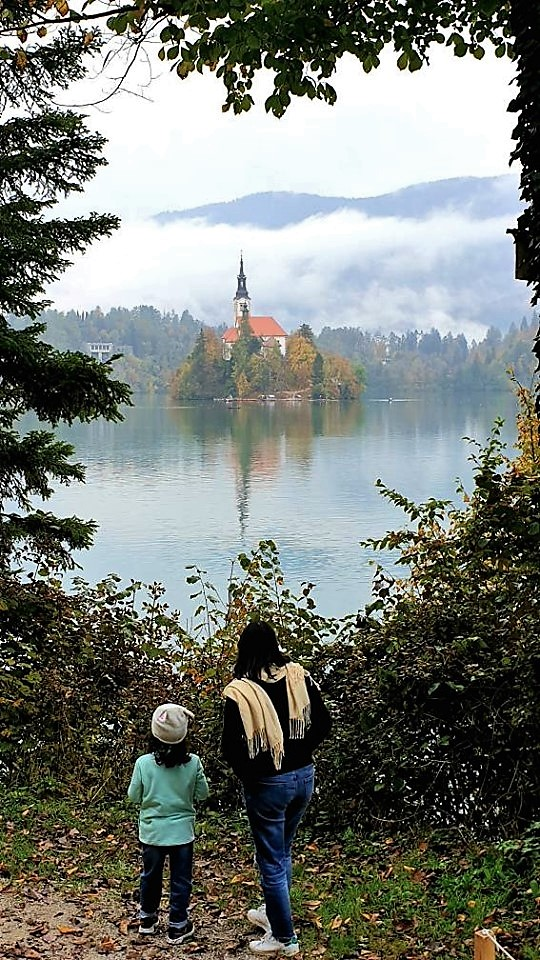 View of the Bled Island